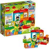 樂高積木樂高得寶系列10833幼兒園LEGODUPLO積木玩具xw