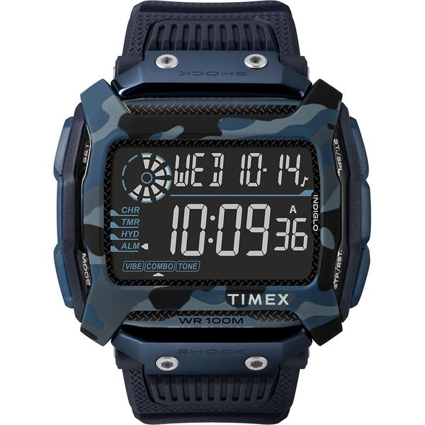【TIMEX】 天美時 遠征系列 多功能電子錶 (藍 TXTW5M20500)