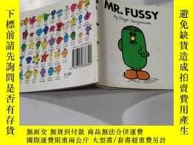 二手書博民逛書店罕見mr.fussy:福西先生:Y212829