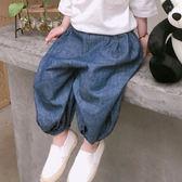 水洗牛仔燈籠褲 休閒褲 縮口褲 橘魔法Baby magic 現貨 童褲 長褲 中性款 中小童