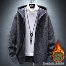 外套男 秋冬季外套男新款修身韓版潮流青少年學生帥氣加絨加厚夾克男 星河光年