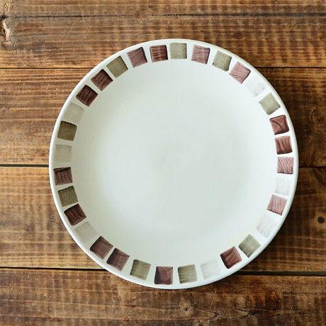 手繪陶瓷|8.5寸平盤|
