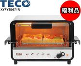 (福利品)【東元】9公升防燙外取式電烤箱XYFYB0971R 保固免運-隆美家電