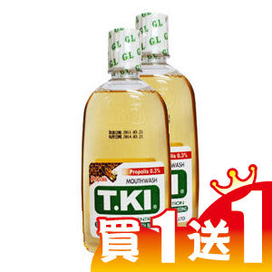 T.KI 鐵齒蜂膠抗敏感漱口水350ml(買一送一)【全成藥妝】
