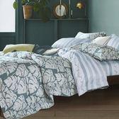 新一代天絲 吸濕排汗 雙人加大床包兩用被四件組 納爾森