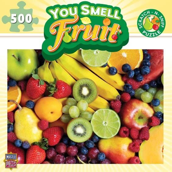 [KANGA GAMES][500片拼圖] 水果 You Smell - Fruit