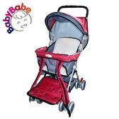 【BabyBabe】三用加寬揹架車  紅 B501_R