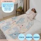 【Leafbaby】極順柔緻質感雪花絨蓋毯 2入組-賣萌動物園