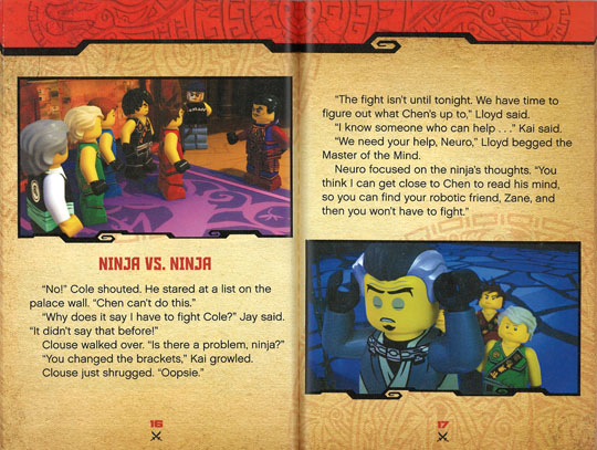 LEGO NINJAGO (樂高旋風忍者): NINJA VS. NINJA
