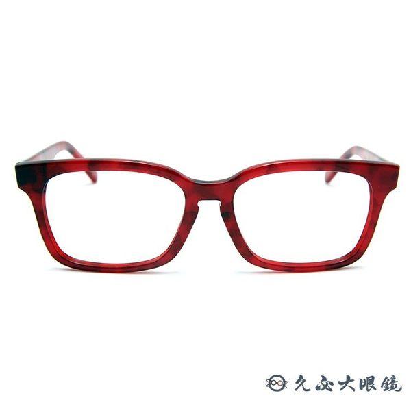 角矢甚治郎 日本手工眼鏡 本能寺 第六天魔王 C-SR 紅 久必大眼鏡