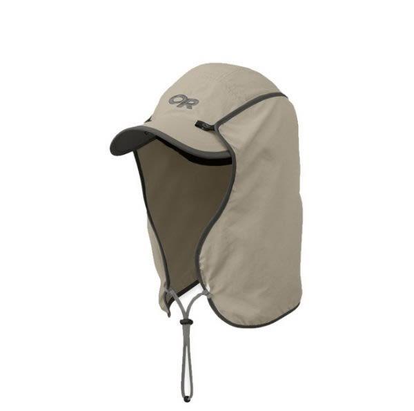 美國 Outdoor Research 抗紫外線鴨舌護頸帽80610 / 城市綠洲 (抗UV30.防曬.護頸.可拆多造型.通風.OR)