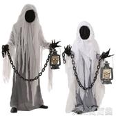萬圣節服裝 大人兒童舞台錶演魔鬼惡魔搞怪恐怖陰森幽靈服裝鬼衣服 簡而美