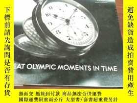 二手書博民逛書店(奧運圖書)GREAT罕見OLYMPIC MOMENTS IN