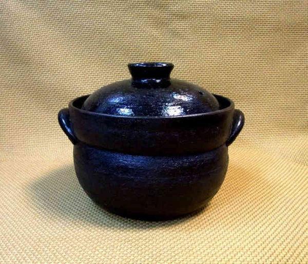 日本陶瓷【萬古燒】好吃的炊飯鍋 四合炊 附雙層蓋 鍋 砂鍋 炊飯鍋