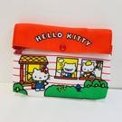 【震撼精品百貨】Hello Kitty 凱蒂貓~Hello Kitty 凱蒂貓化妝包-懷舊-70's