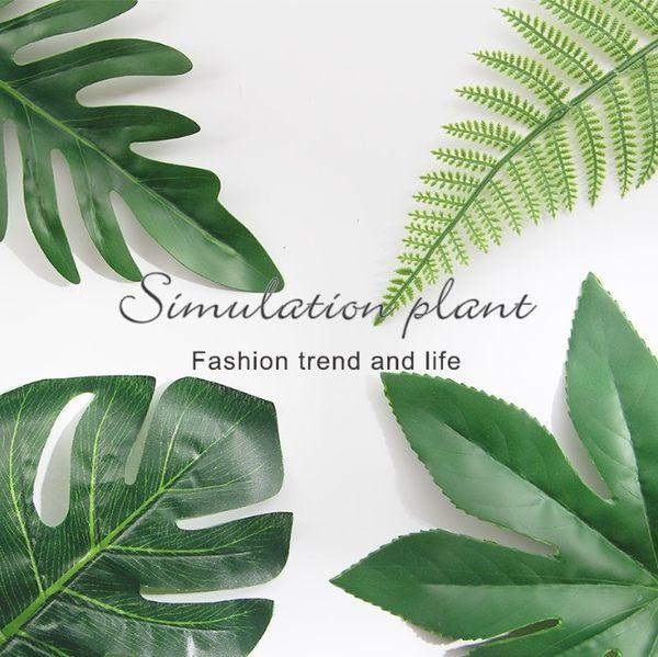 北歐風擺件 高品質 仿真葉子 植物 一片綠葉 北歐葉 仿真裝飾葉 拍攝道具 攝影道具【RS844】