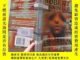 二手書博民逛書店ROBERT罕見SWINDELLS ABOMINATION【39