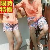 情侶款海灘褲(單件)-衝浪防水日本風情傳統設計花卉設計男女短褲66z39【時尚巴黎】