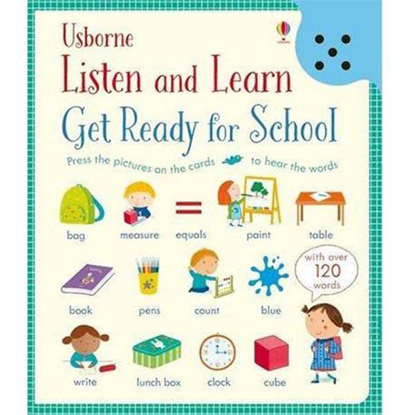 Listen And Learn Get Ready For School 準備上學去 聽說學習本