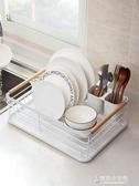 居家家廚房碗碟架放碗架碗筷瀝水架碗櫃裝餐具置物架收納盒收納架  【快速出貨】