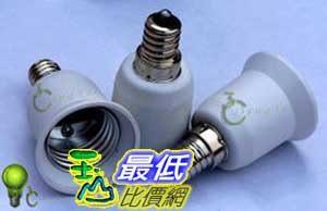 [玉山最低比價網] E14轉E27燈頭 E14轉E27老化燈頭 E14-E27燈頭轉換器(i199)