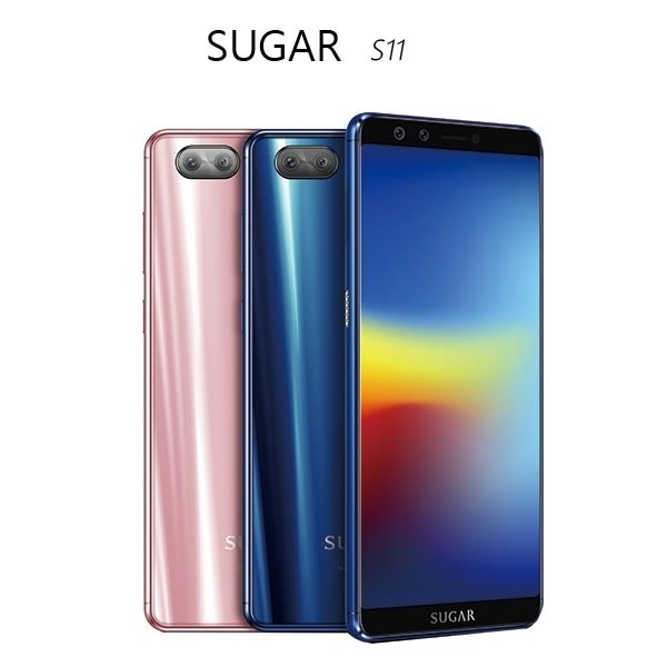 SUGAR S11 4GB/64GB 6吋全螢幕手機~送玻璃保護貼+X7000mAh移動電源