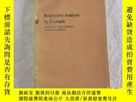 二手書博民逛書店Regression罕見ANalysis by Example