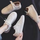 新款小白板鞋女學生百搭帆布