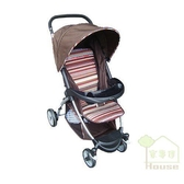 [ 家事達 ]Mother's love- N200 嬰兒手推車-咖啡色 特價 可坐、臥、躺