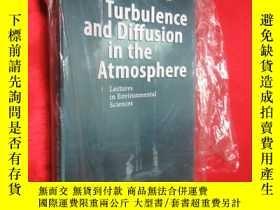 二手書博民逛書店Turbulence罕見and Diffusion in the