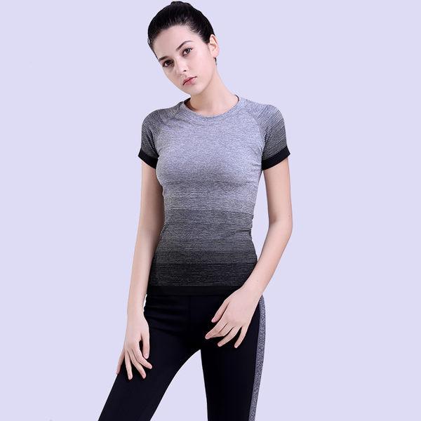 休閒運動T恤女裝速幹戶外透氣健身服百搭短袖  -124820010