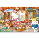 【台製拼圖】HP01000-149 Hello Kitty 浪漫花坊拼圖 1000 片盒裝拼圖