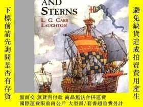 二手書博民逛書店Old罕見Ship Figure-Heads and Sterns (Dover Maritime)-舊船型船頭和