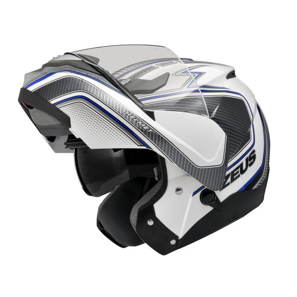 ZEUS 瑞獅安全帽,ZS3100,YY5/白藍