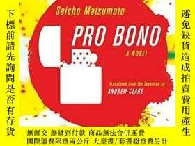 二手書博民逛書店Pro罕見BonoY255562 Matsumoto, Seisho Vertical Inc 出版2012