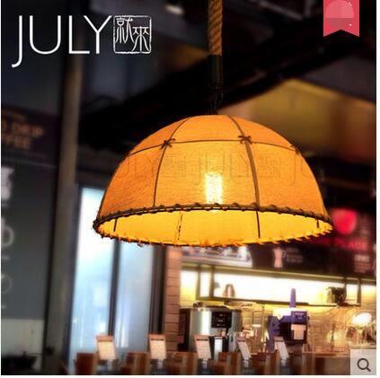 美術燈   複古工業鐵藝咖啡館餐廳酒吧吧台裝飾創意個性鍋蓋藝術吊燈-不含光源