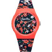 Superdry極度乾燥 阿羅哈之旅運動腕錶-SYL177UO