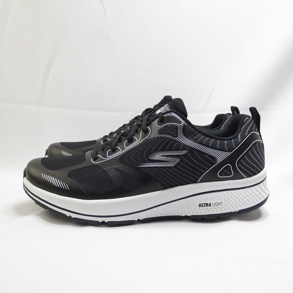 Skechers GO RUN CONSISTENT 男款 慢跑鞋 220035BKW 黑白【iSport愛運動】