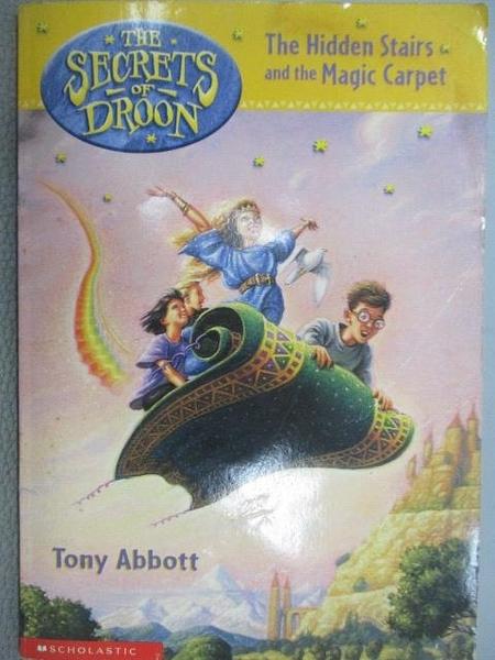 【書寶二手書T1/原文小說_MKX】The Secrets of Droon-The Hidden Stairs and the Magic Carpet