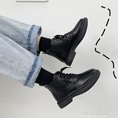 馬丁靴女夏季薄款2020新款百搭夏天穿的短靴平底英倫風黑色靴子潮『小淇嚴選』