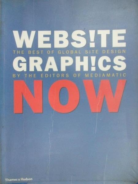 【書寶二手書T4/設計_FG7】WEBSITE GRAPHICS NOW