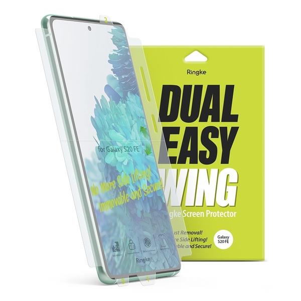 Rearth Ringke 三星 Galaxy S20 FE 滿版抗衝擊螢幕保護貼(兩片裝)