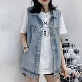 春夏季新款2020女裝網紅牛仔馬甲女韓版寬鬆無袖背心馬夾外套潮 【ifashion·全店免運】