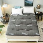 床墊 法蘭絨加厚加絨床墊床褥子墊被經濟型加厚珊瑚絨防滑冬季保暖墊背T 尾牙