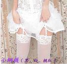 B281~白色蕾絲小網襪一雙