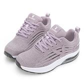 PLAYBOY 彈力飛織 抗震動能氣墊休閒鞋-紫(Y7250)