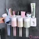 牙刷架 衛生間吸壁式牙刷架壁掛洗漱架牙刷筒牙刷杯牙刷置物架套裝收納架