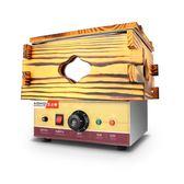 不銹鋼9格麻辣燙鍋電熱小吃設備串串香機器 木框關東煮機器   聖誕節歡樂購