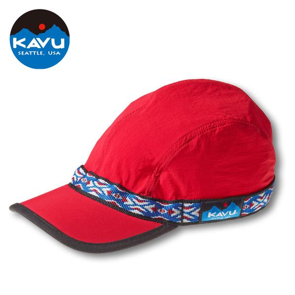 西雅圖 KAVU Synthetic Strapcap 鴨舌帽 紅色 #112 【美國製造】