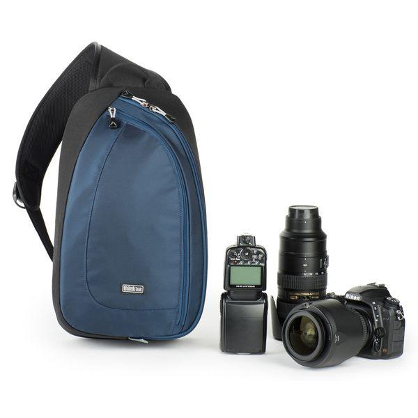 thinkTANK 創意坦克 單肩斜背包 腰包 兩用 類單眼 微單眼 相機包 TurnStyle 20 V2.0 藍 TTP467 正成總代理